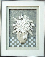 Pewter Bouquet